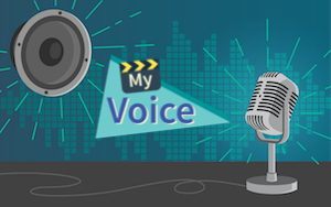 My Voice speaking and recording activity