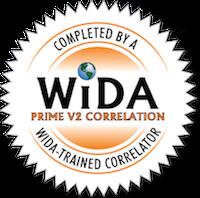 WIDA PRIME Correlation Seal