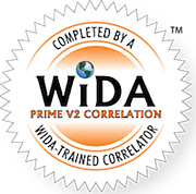 WIDA PRIME Correlation Seal