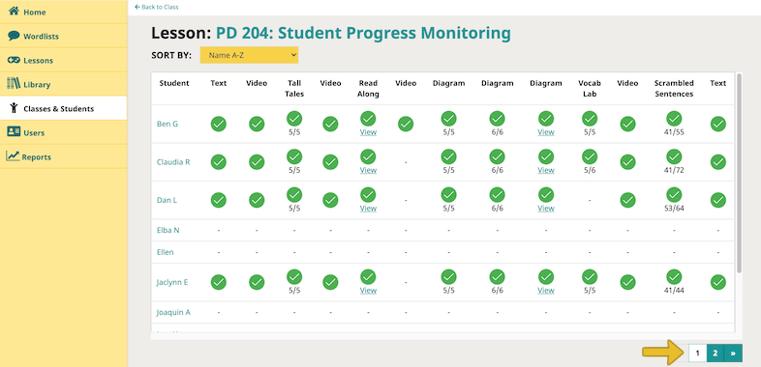 class-report-web