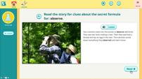 Vocab Lab Vocabulary Game Story