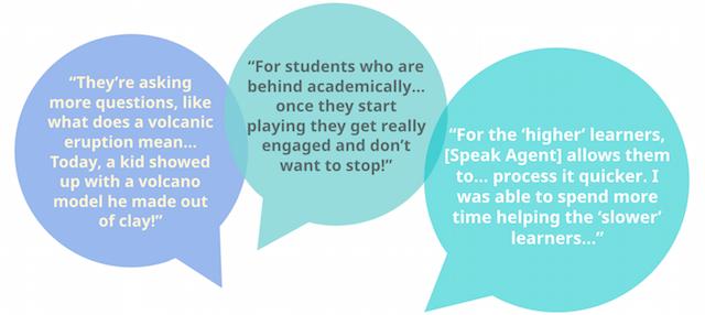 Teachers academic language experience